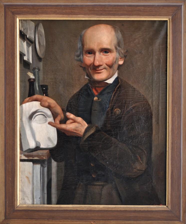 Portrait of a sculptor - Unidentified 19th century Belgian